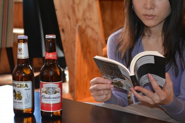 天狼院書店で読書