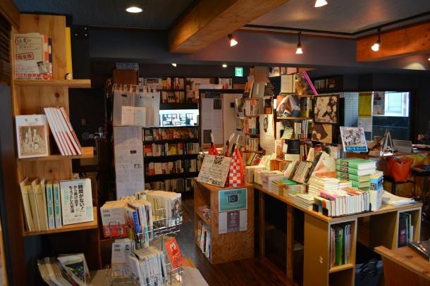 天狼院書店の店内