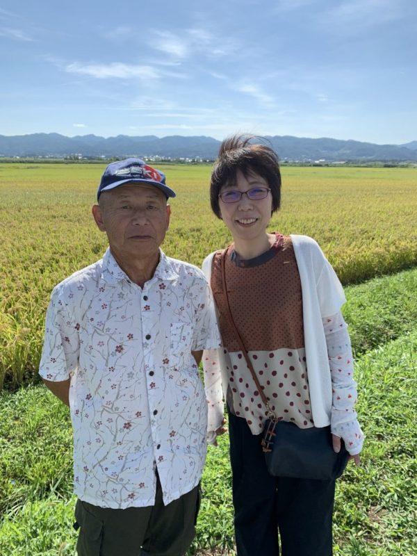 朱鷺と暮らす郷米の生産者仲川さんとはるさん