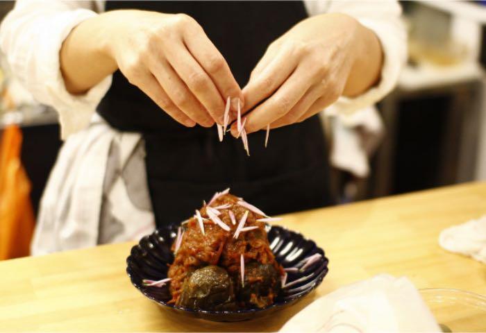 もうひとつのdaidokoro 料理中の様子