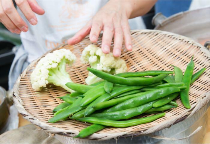 もうひとつのdaidokoroのお野菜