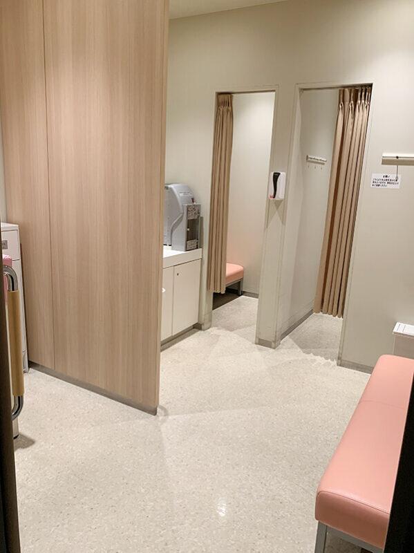 WACCA池袋の授乳室