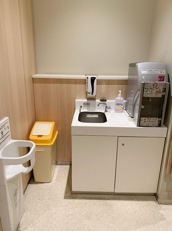 WACCA池袋 赤ちゃん休憩室の調乳用湯沸かし器